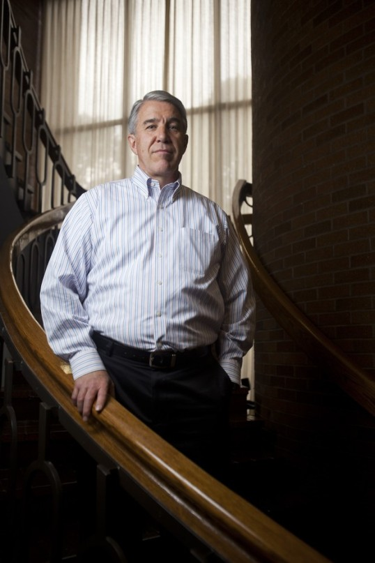 A photo of Stanford Sainsbury from the Daily Herald upon his retirement in 2012. Photo by Jim Mcauley